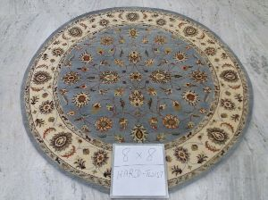 Hand Knotted Traditional Design Woolen Carpets 07