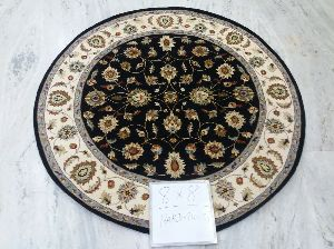 Hand Knotted Traditional Design Woolen Carpets 08