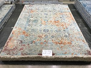 Hand Knotted Traditional Design Woolen Carpets 09