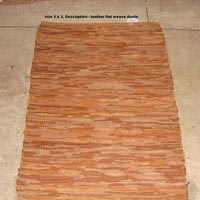 Leather Rugs 07