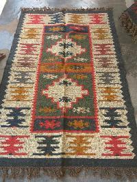 Wool Jute Rugs (GE-1111)