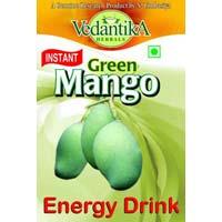 Instant Green Mango Energy Drink