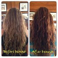 Dark Brown Henna Hair Dye