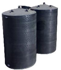 spiral polypropylene storage tanks