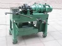 re bar threading machine
