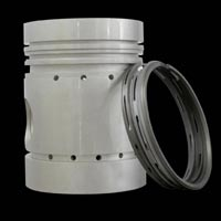 Diesel Engine Piston With Ring