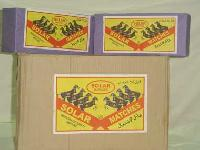 Solar Safety Matches