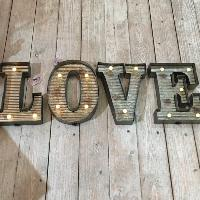 Industrial Metal Led Letters