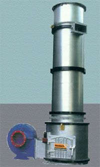 Solid Fuel Fired Hot Air Generator