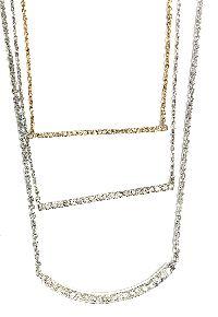 Diamond Bar Necklaces