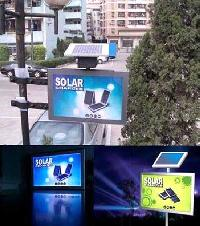 Solar Advertising Light Box