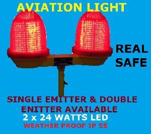Dual Aviation Obstruction Light