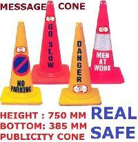 PVC Message Traffic Cone