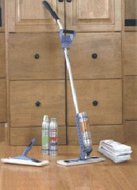 The Razor Floor Cleaning System