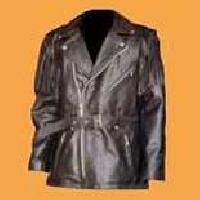Leather Overcoat - 02