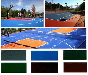 Sports Acrylic Flooring