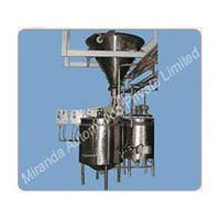 Invert Sugar Syrup Making Machine