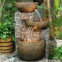 garden and indoor water fountains