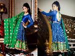 Bridal Hand Embroided Anarkali Suit