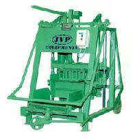 Hand Operated Concrete Block Making Machine