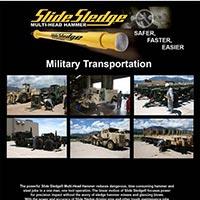 Slide Sledge Multi Head Hammer For Military Transportation