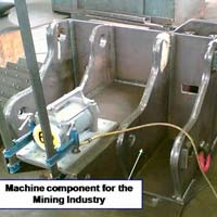 Stress Relieving Of Machine Component For Mining Industry