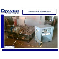 Vibratory stress relieving services for welded molds