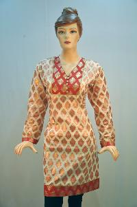 Trendy Printed Cotton Kurti