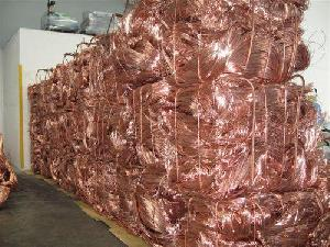 Copper Wire Scrap, Millberry Copper 99.99