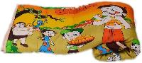 Chota Bheem Cartoon Print Micro Cotton Single Bed Quilt