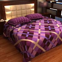 Factorywala Traditional Classic Print Multi Color  Double Bed Sheet