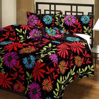 Floral Printed Cotton Ac Single Bed Blanket