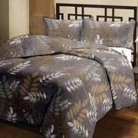 Leaf Printed Cotton Ac Single Bed Blanket