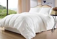 Plain Cotton Ultra Plush Microfibre Double Comforter