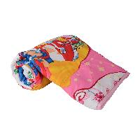 The Princess Cartoon Print Micro Cotton  Single Bed Quilt