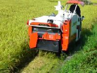 Mini Rice Harvester