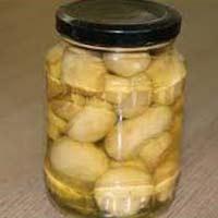 Brined Button Mushroom