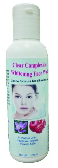 Hawaiian Clear Complexion Whitening Face Wash