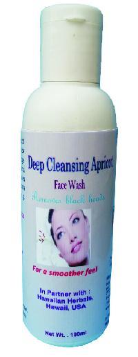 Hawaiian Deep Cleansing Apricot Face Wash