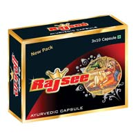 Rajsee Ayurvedic Capsules For Men