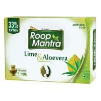 Roop Mantra Lime & Aloe-vera Ayurvedic Soap