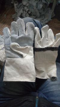 Cotton Leather Gloves