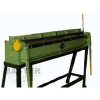 Box and Pan Folding Machine for precise sheet folding