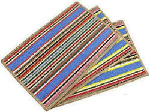 Striped Polypropylene Floor Mats