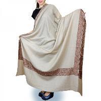 Plain Semi Pashmina Shawls