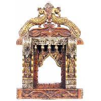 Peacock Wooden Jharokha