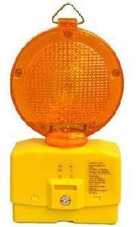 solar road safety solar warning light