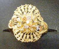 Ladies Gold Ring Lr169
