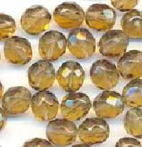 Faceted Glass Beads
