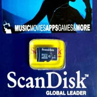 SCANDISK 8GB MICRO SD MEMORY CARD